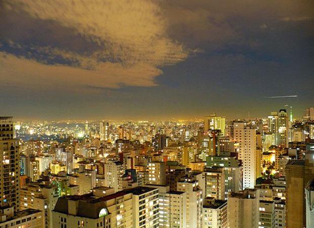 巴西圣保罗夜景
